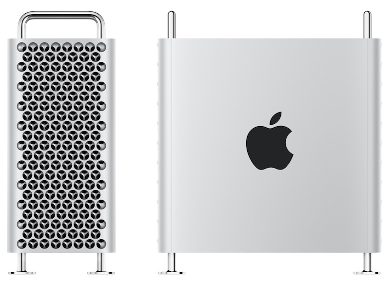 The 2019 Mac Pro, Front and Side