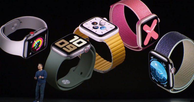 The Apple Watch 5